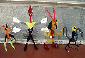 Bonecos alienígenas do Atelier Caixadagua33