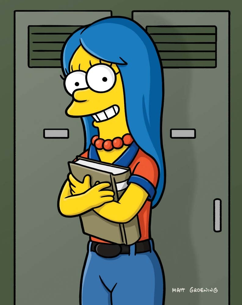 young marge simpson - Desenhos Band